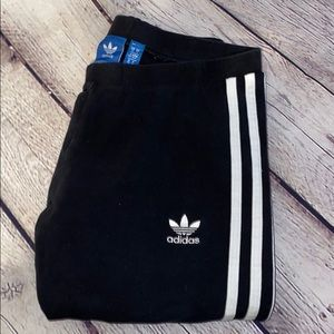 Adidas Three Stripe Black legging